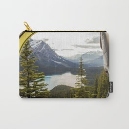 LAKE - MAN - FEET - TENT - PHOTOGRAPHY Carry-All Pouch