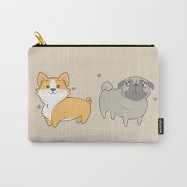 Corgi and pug Carry-All Pouch