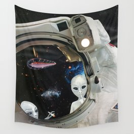 One Small Toke For Man Wall Tapestry
