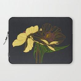 Art Nouveau Poppy Duet by Seasons K Designs Laptop Sleeve