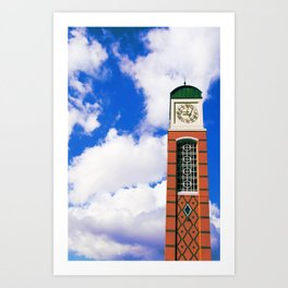 Cook Carillon. Art Print