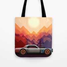 Into the Sun, Ford Mustang 65 KB Tote Bag