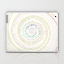 Re-Created Spin Painting No. 58 by Robert S. Lee Laptop & iPad Skin