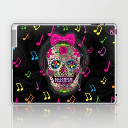 Sugar Skull Music Laptop & iPad Skin
