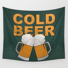 Cold beer Wall Tapestry