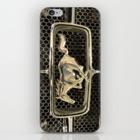 mustang iPhone & iPod Skins featuring Mustang  by Dragons Laire