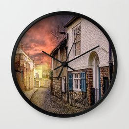 Chapter House Street  Wall Clock