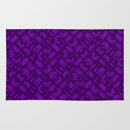 Control Your Game - Tradewinds Purple Rug