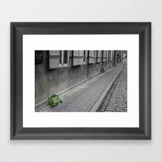 My Traveling Pack Framed Art Print