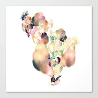 Canvas Prints featuring love space flowers by Ars Infinity - @ Roland Zulehner