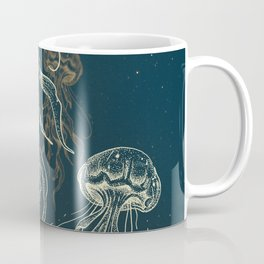 Jellyfish abduction Coffee Mug
