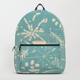 Winter Snowflakes and Doodles Backpack