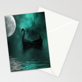 Solar Swan Stationery Cards