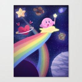 Warping through the Stars Canvas Print
