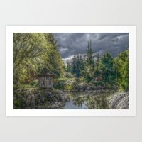 poland Art Prints featuring Hortulus-Poland HDR by helsch photography