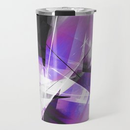 Breakwave - Geometric Abstract Art Travel Mug