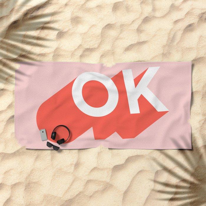 OK Beach Towel