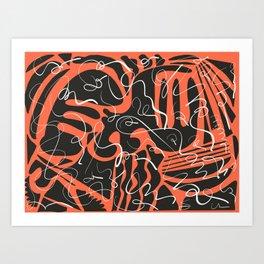 The Lightning Art Print