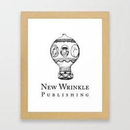 New Wrinkle Publishing Logo Framed Art Print