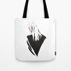 White Hair Tote Bag