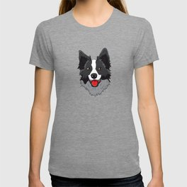 Border Collie Collies Lover Christmas Dog Collies T-shirt
