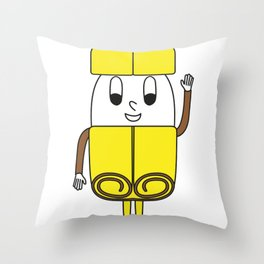 Cinnamon-Stick Egg Throw Pillow