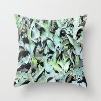 plant Throw Pillows featuring Plant by Minomiir