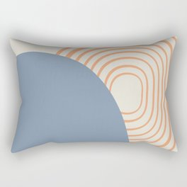 Sun Meditation Rectangular Pillow