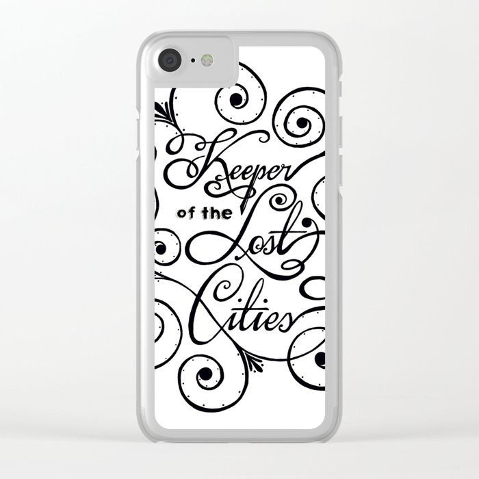 Keeper of the Lost Cities Clear iPhone Case