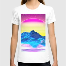 Vaporwave Sunset T-shirt
