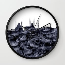 Istanbul Skyline Turkey Wall Clock