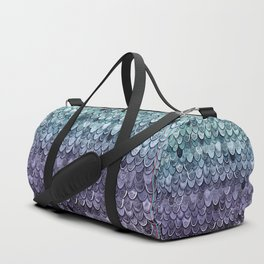 MAGIC MERMAID - MYSTIC TEAL-PURPLE Duffle Bag