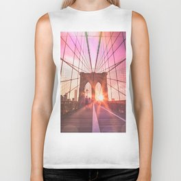 NYC Brooklyn Bridge Biker Tank