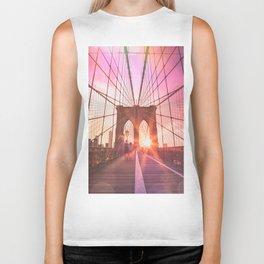NYC Brooklyn Bridge Biker Tank