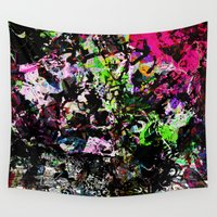 jungle Wall Tapestries featuring jungle by BUBUBABA