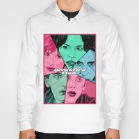 breakfast club Hoodies featuring Breakfast Club Colors by David Amblard