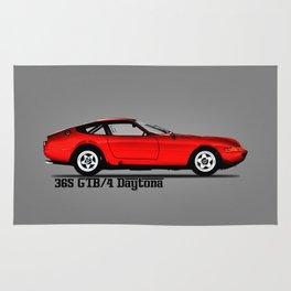 The 365 GTB-4 Rug
