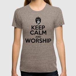 KEEP CALM AND WORSHIP T-shirt