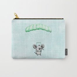 Cutie Parachuting Elephant Carry-All Pouch
