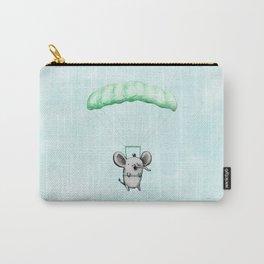 Cutie Parachuting Elephant Carry-All Pouch