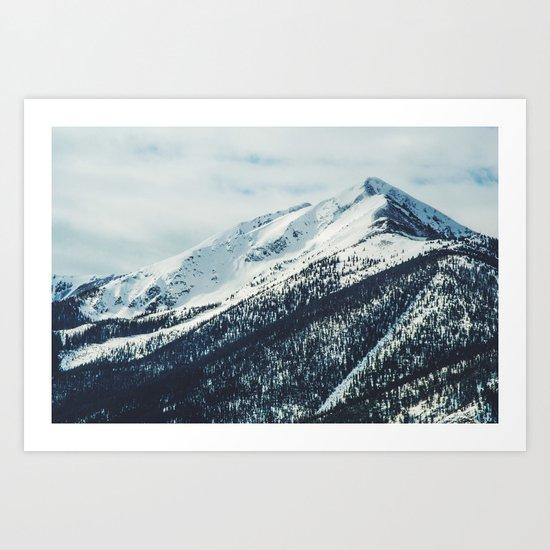 Mountain Love Art Print