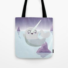 Norman the Near-Sighted Narwhal Tote Bag