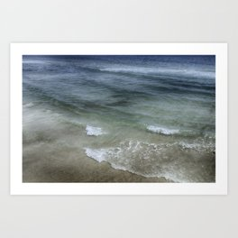 Shimmering Tide Art Print