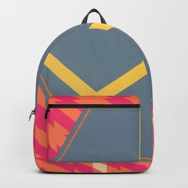 To Bee or Not - pink/orange graphic Backpack