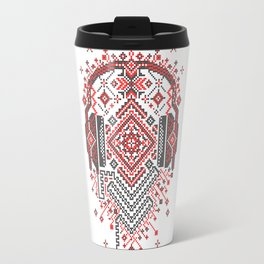 Headphones Ornament Travel Mug