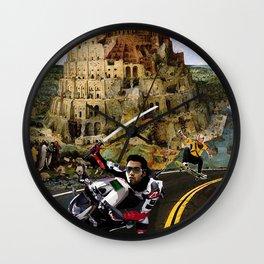 Snow Crash - Neal Stephenson Wall Clock