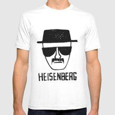 Heisenberg - Breaking Bad Sketch MEDIUM White Mens Fitted Tee