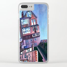 Hotel of the Slow Death - Harrow - London Clear iPhone Case