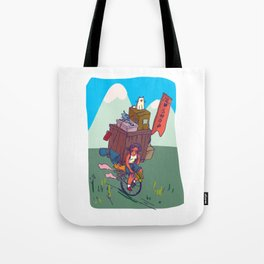 The lonely cat shop Tote Bag