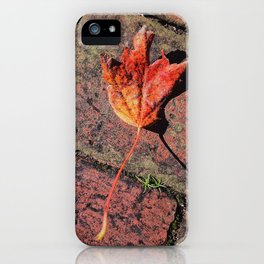 Hitting the Bricks iPhone Case